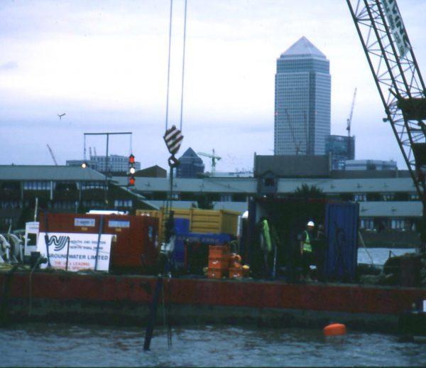 DLR Extension, Greenwich