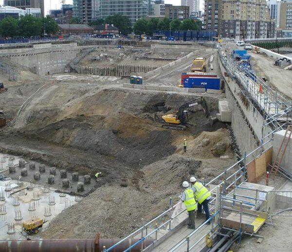 Riverside South Development, Canary Wharf