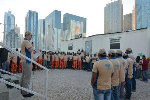 Doha Celebrations led by Paul Turner