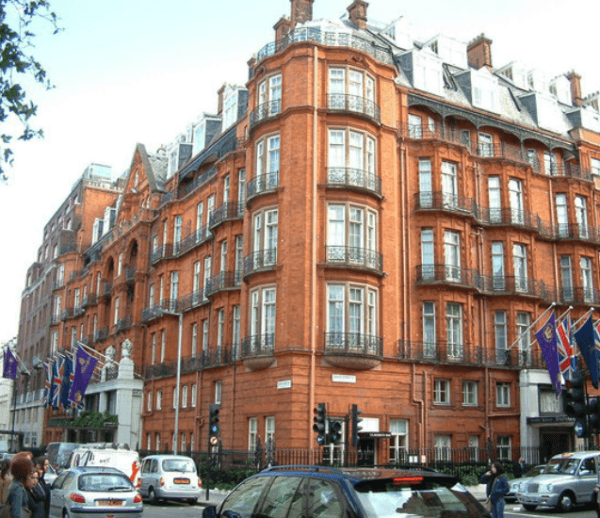 Claridge's Hotel, London