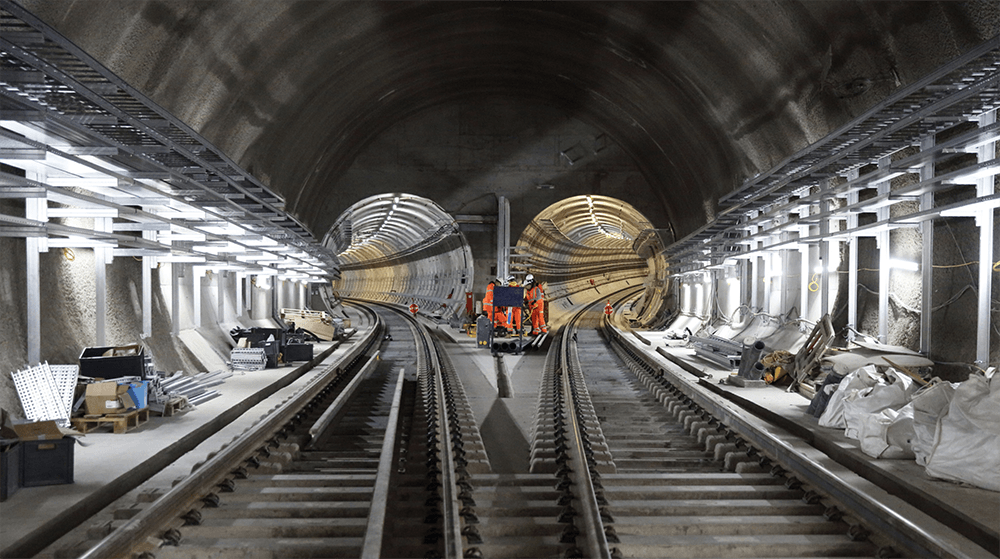 Crossrail deep shaft