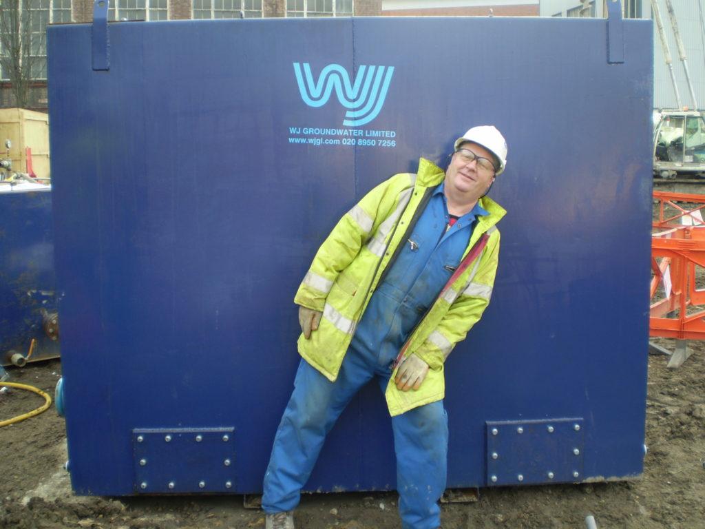 Charlie at work at WJ UK