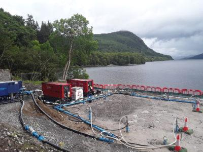 Ness Regional WTW, Loch Ness, Scotland