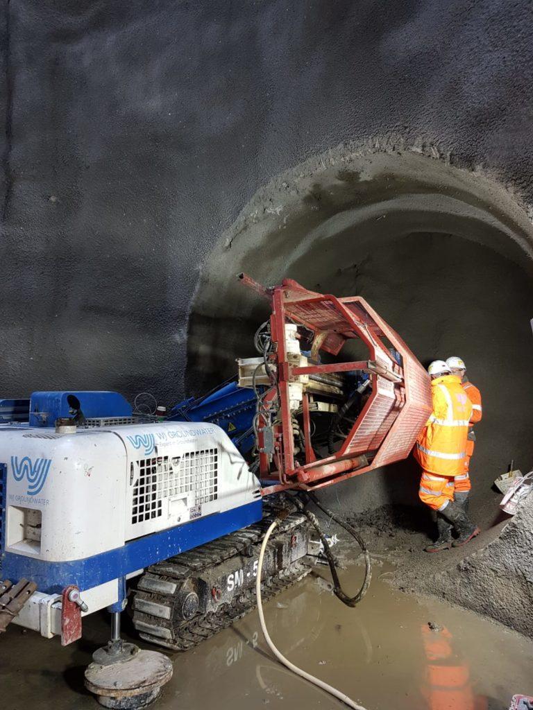 WJ In-tunnel Drilling