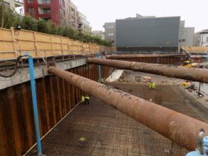 Deepwell dewatering system implemented at Royal Albert Dock, London
