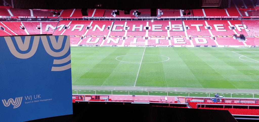 The backdrop for the most recent BDA Seminar - Old Trafford, Manchester