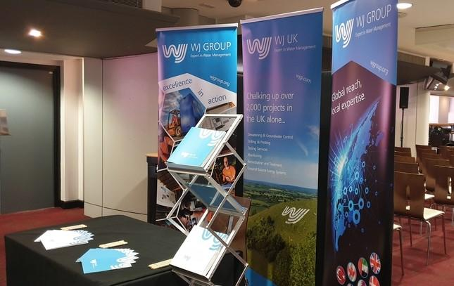 WJ UK's stand at the BDA Seminar at Old Trafford in Manchester