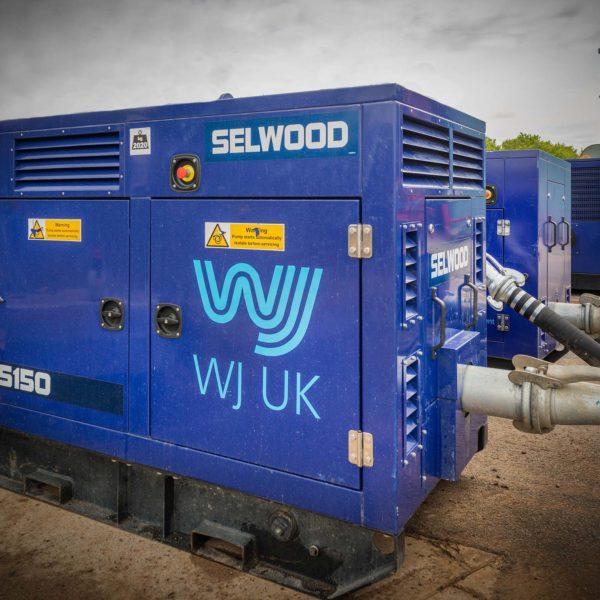 Electric dewatering recirculation pump
